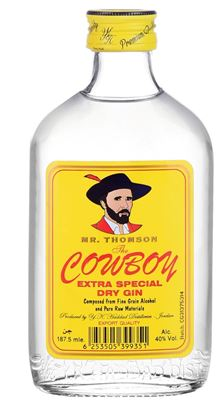 Picture of Cowboy Gin 187.5 ML.
